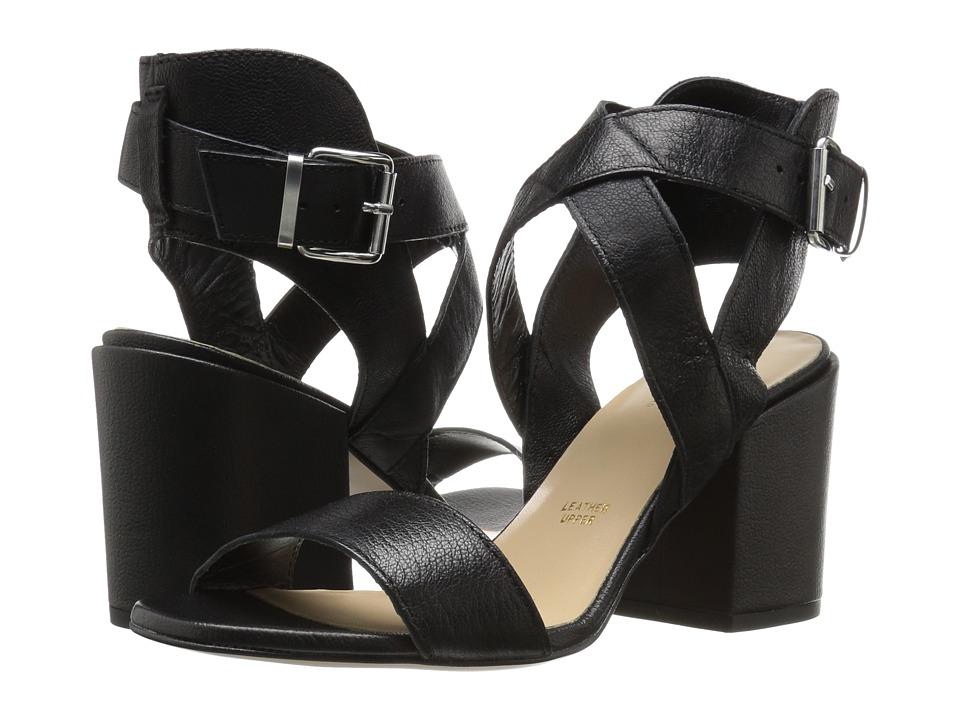 Summit by White Mountain - Preeda (Black Leather) Women's Shoes