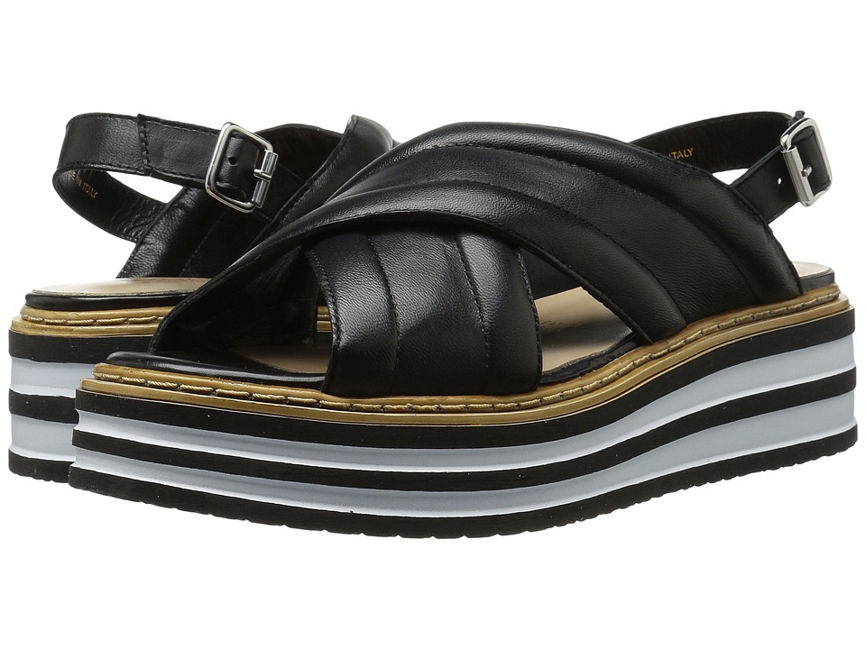 Summit by White Mountain - Leanna (Black Leather) Women's Shoes