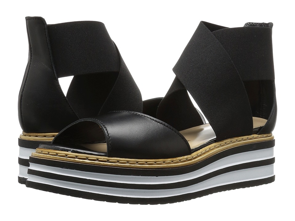 Summit by White Mountain - Laurianne (Black Leather) Women's Shoes