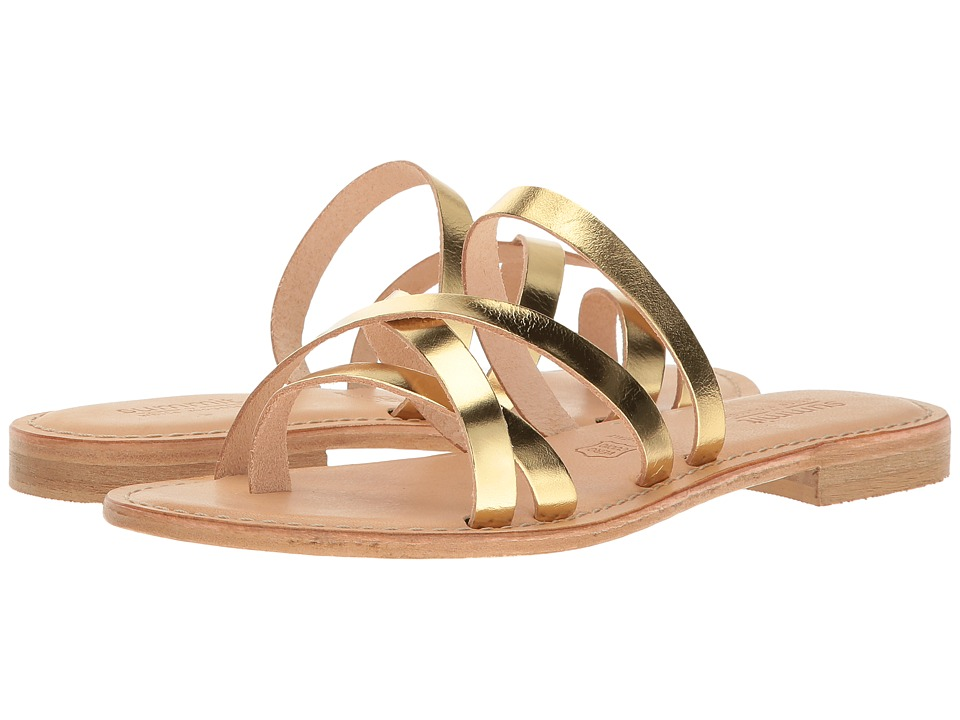 Summit by White Mountain - Edlyn (Gold Metallic Leather) Women's Shoes