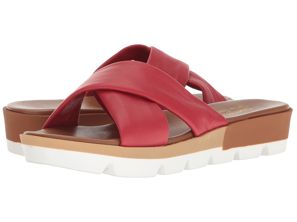 Summit by White Mountain Floretta (Red Leather) Women