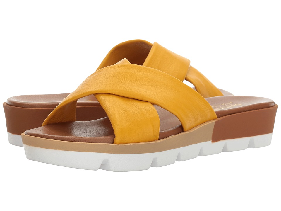 Summit by White Mountain - Floretta (Yellow Leather) Women's Shoes