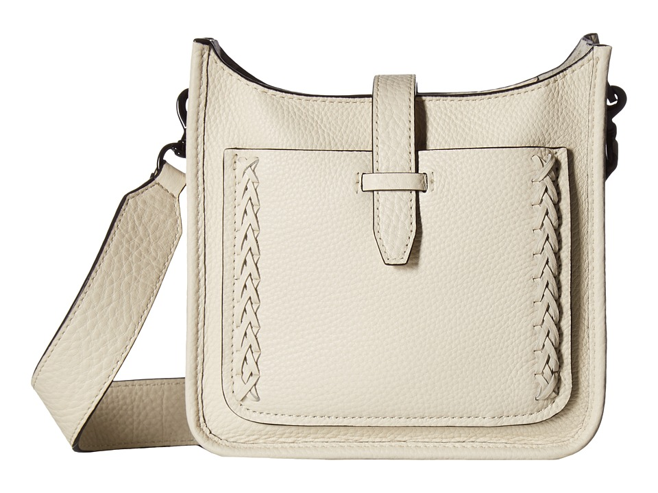 Rebecca Minkoff - Mini Unlined Feed Bag with Whipstitch (Antique White) Handbags