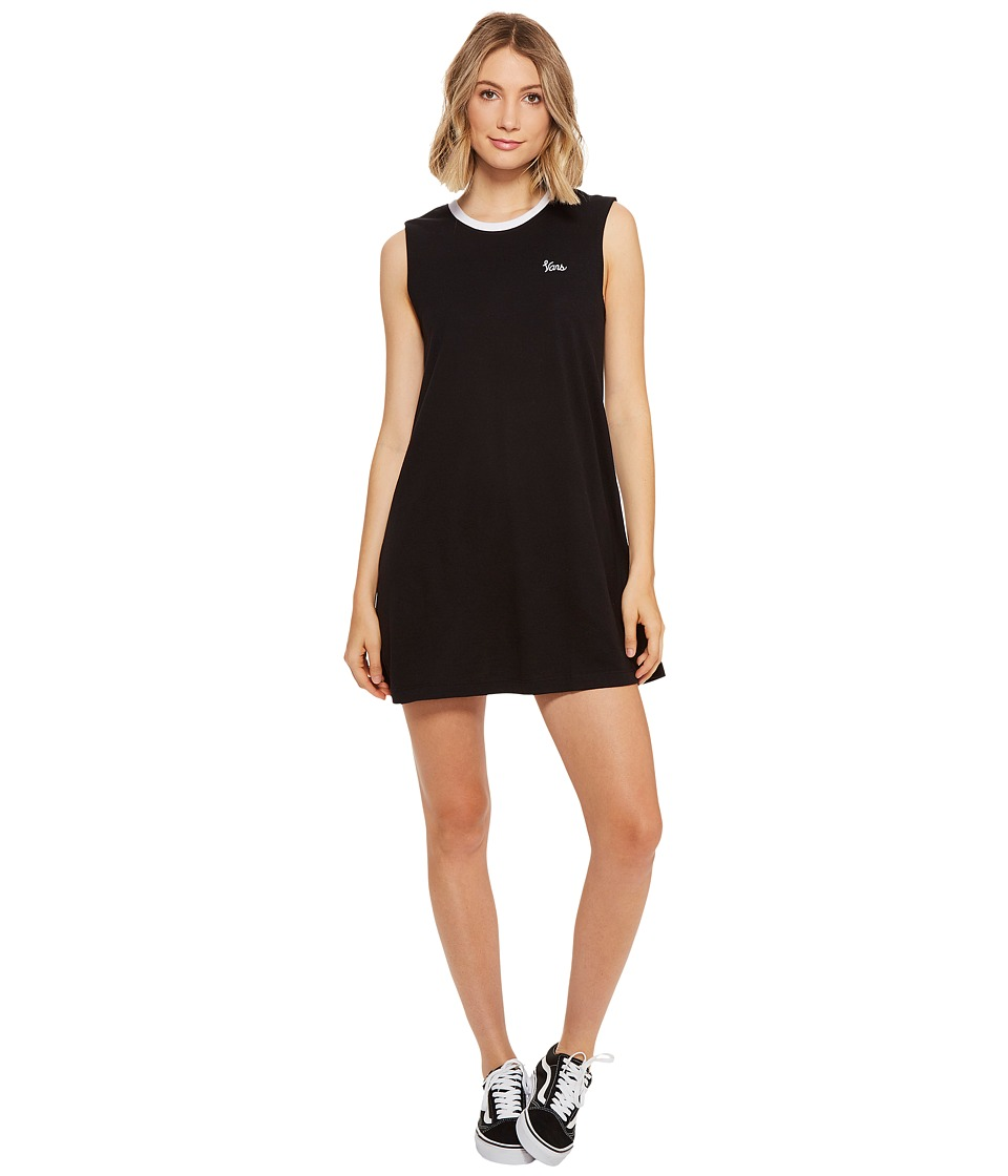 Vans - Pipan Muscle Dress (Black) Women's Dress