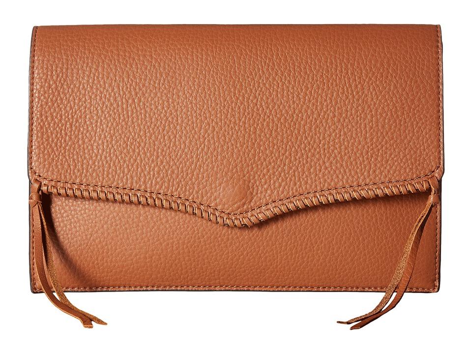 Rebecca Minkoff - Panama Clutch (Almond) Clutch Handbags