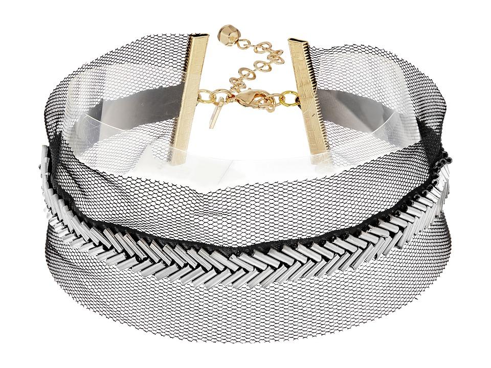 Vanessa Mooney - The Doris Choker Necklace (Black) Necklace