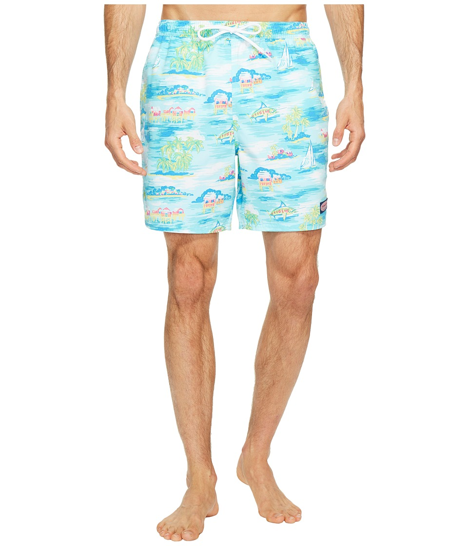 Vineyard Vines - Beach Hut Scenic Chappy Trunk (Pool Side) Men's Swimwear