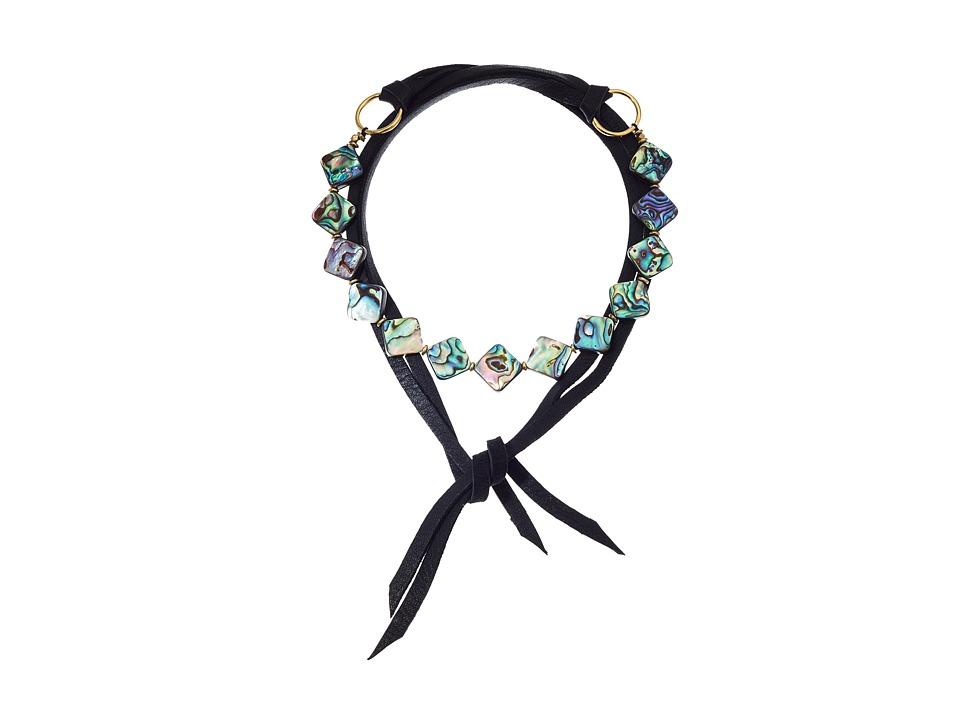 Vanessa Mooney - The Omaha Necklace (Black) Necklace