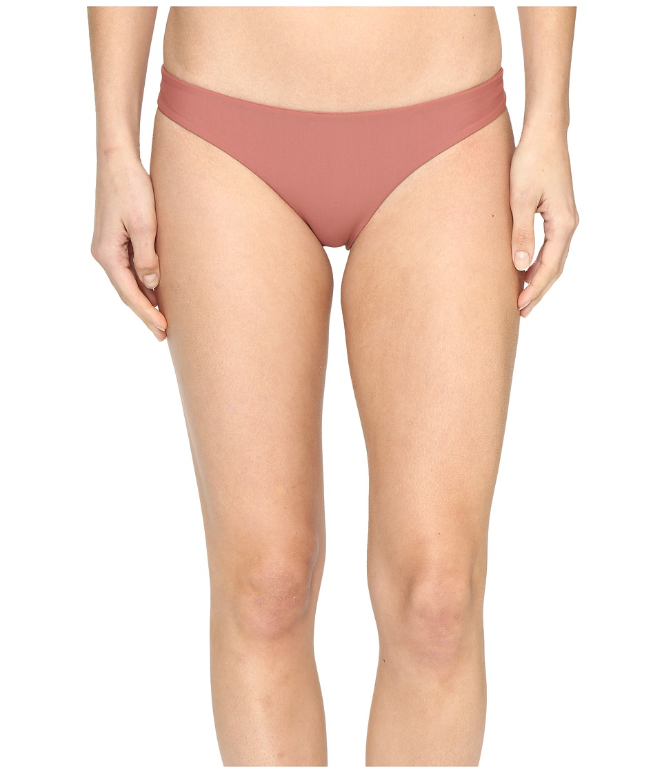 MIKOH SWIMWEAR - Zuma Full Coverage Bottom (Lychee) Women's Swimwear