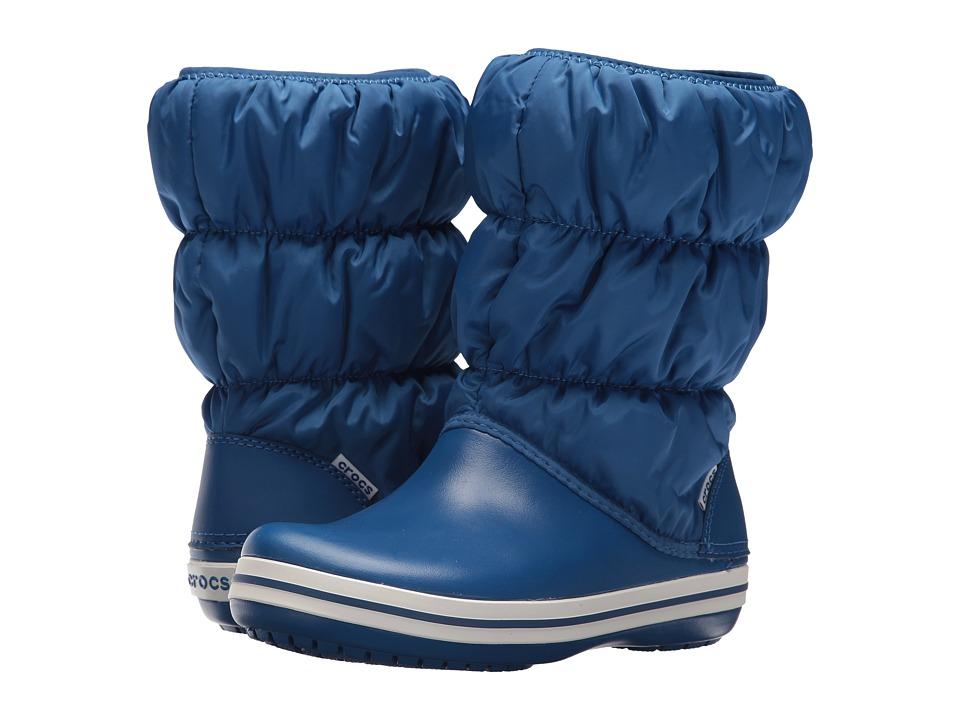 Crocs Winter Puff Boot (Blue Jean/Blue Jean) Women