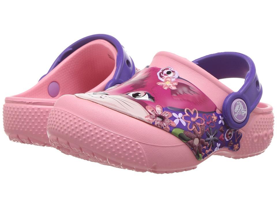Crocs Kids - CrocsFunLab Clog (Toddler/Little Kid) (Peony Pink) Girls Shoes