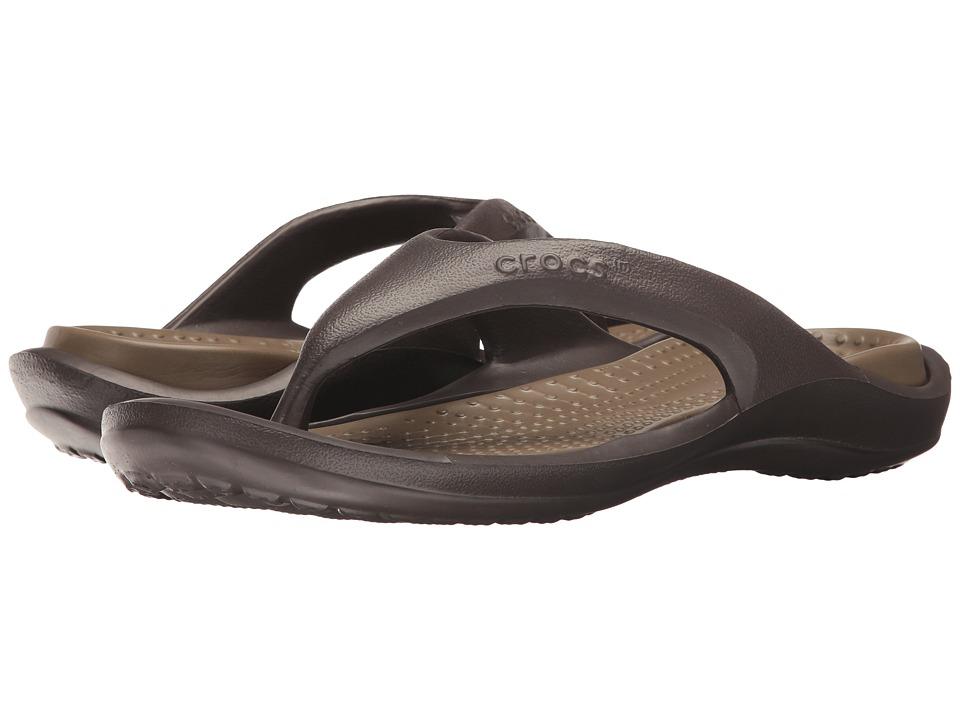 Crocs - Athens (Espresso/Walnut) Sandals