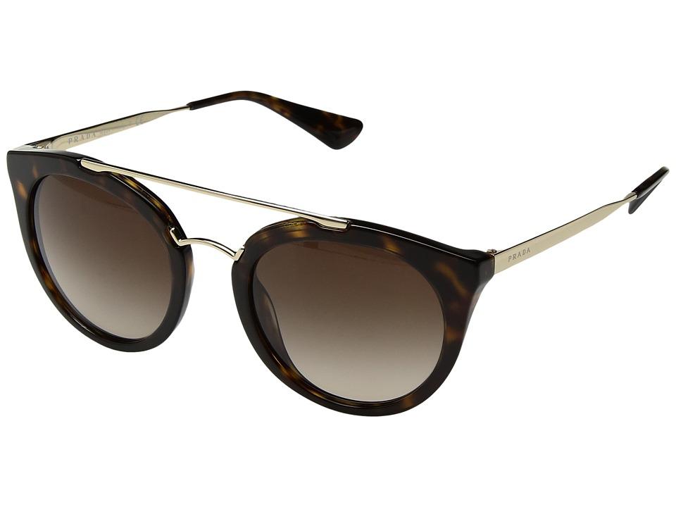 Prada - 0PR 23SS (Havana/Brown Gradient) Fashion Sunglasses