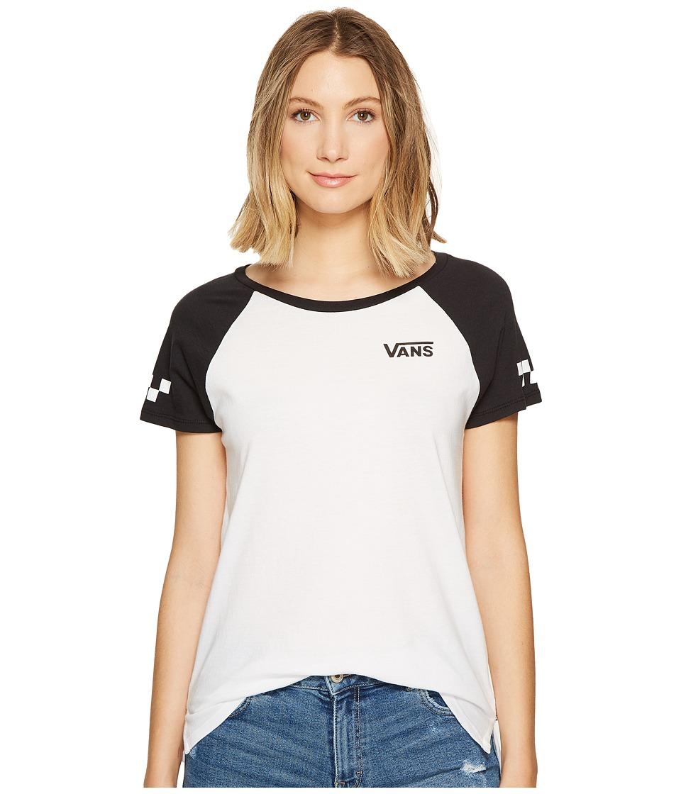 Vans - Sporty (White/Black) Women's Clothing