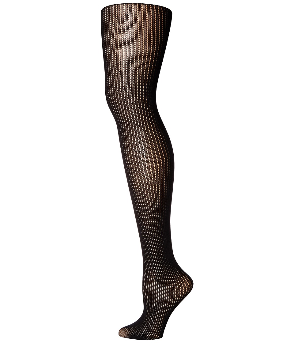 Pretty Polly - Tuckstitich Tights (Black) Hose