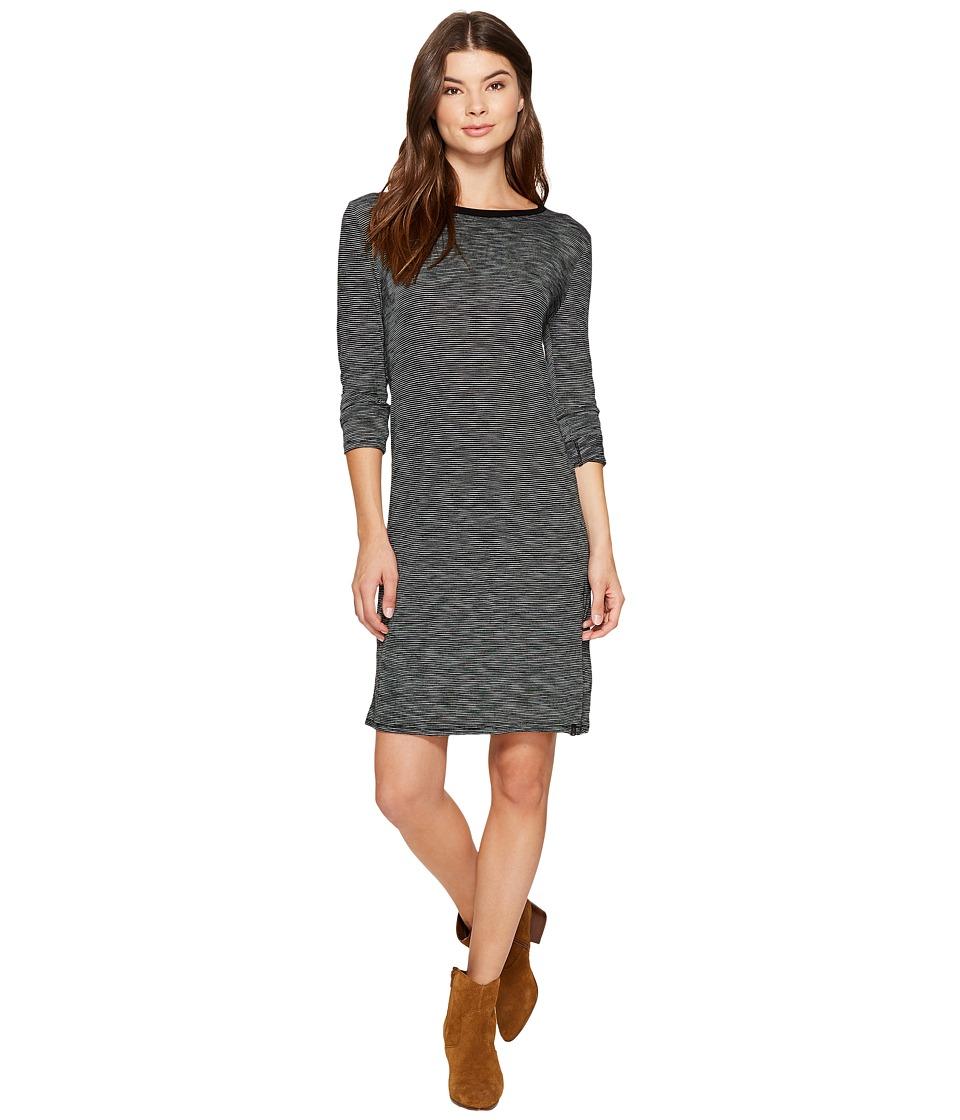 Volcom Lil Long Sleeve Dress (Black) Women