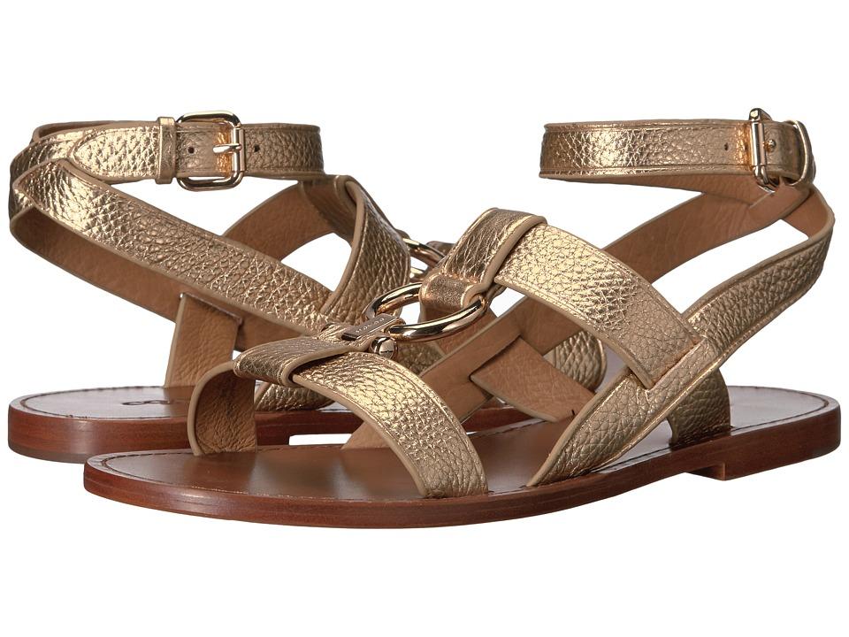 COACH - Elaine (Gold) Women's Shoes