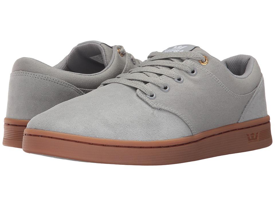 Supra Chino Court (Light Grey/Light Gum) Men