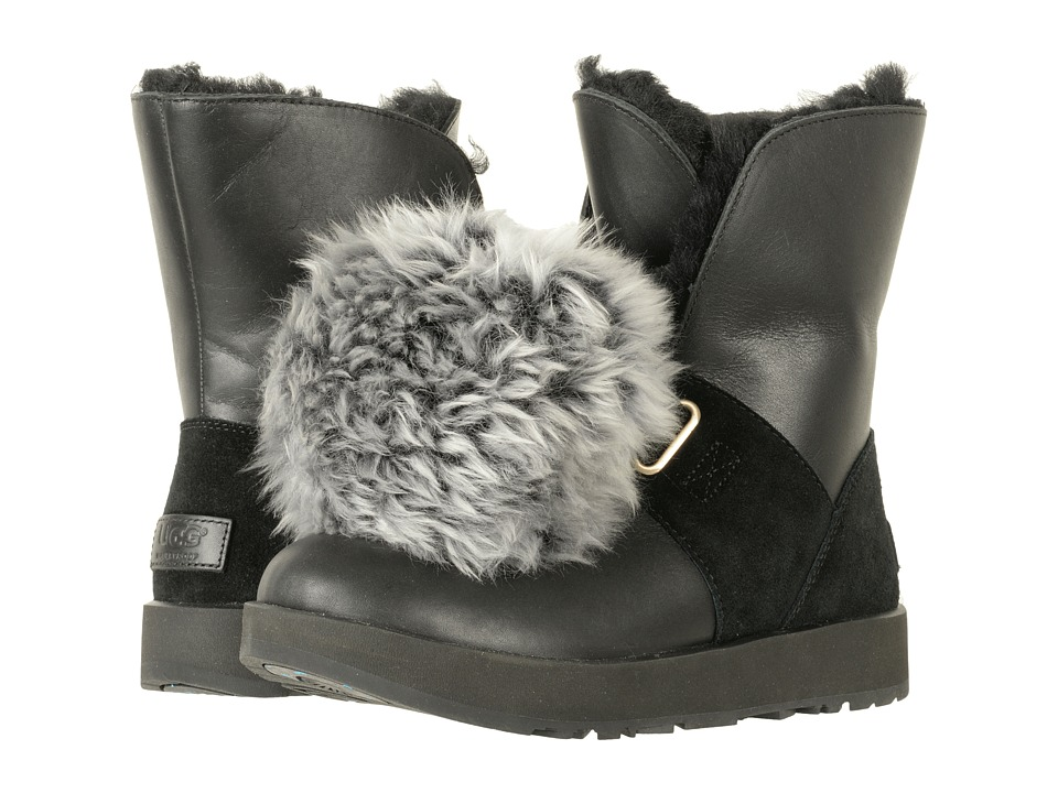 UGG Isley Waterproof (Black) Women