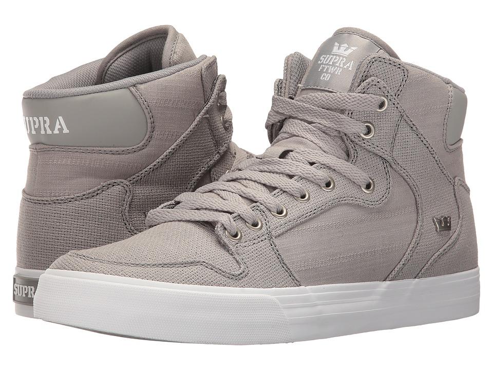 Supra Vaider (Grey/White) Skate Shoes