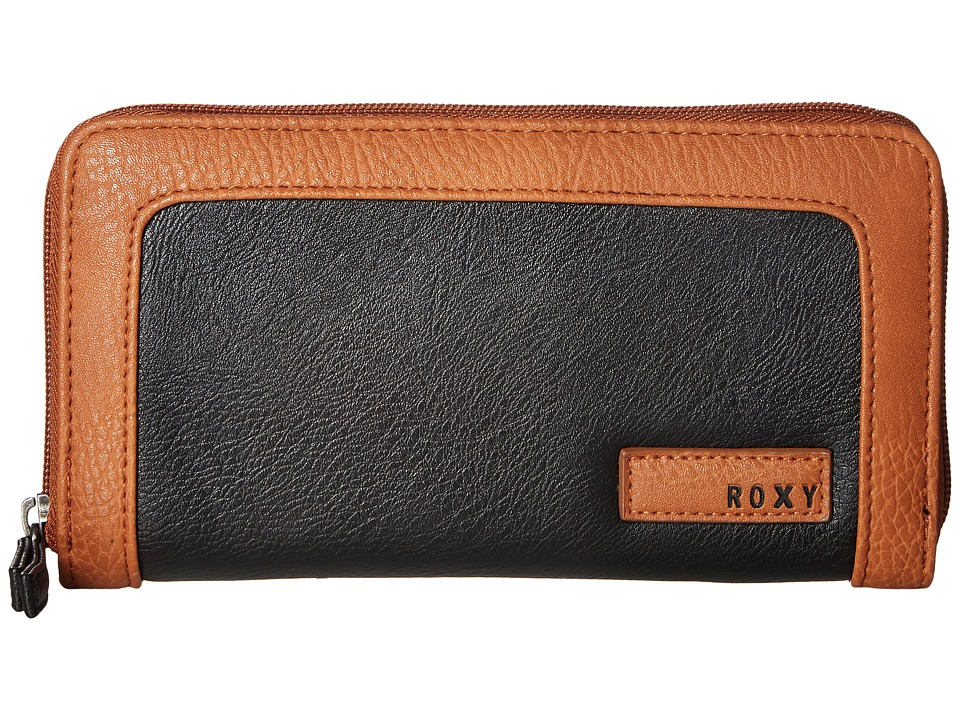 Roxy - Sunny Wallet (True Black) Wallet Handbags