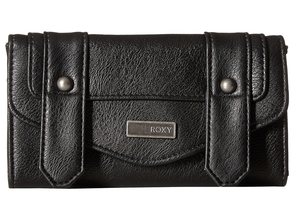 Roxy - Hot Shot Wallet (True Black 1) Wallet Handbags