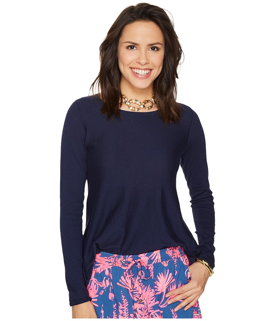 Lilly Pulitzer - Ingle Sweater (True Navy) Women's Sweater