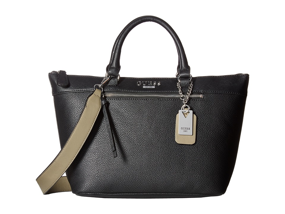 GUESS - Aerial Carryall (Black) Handbags