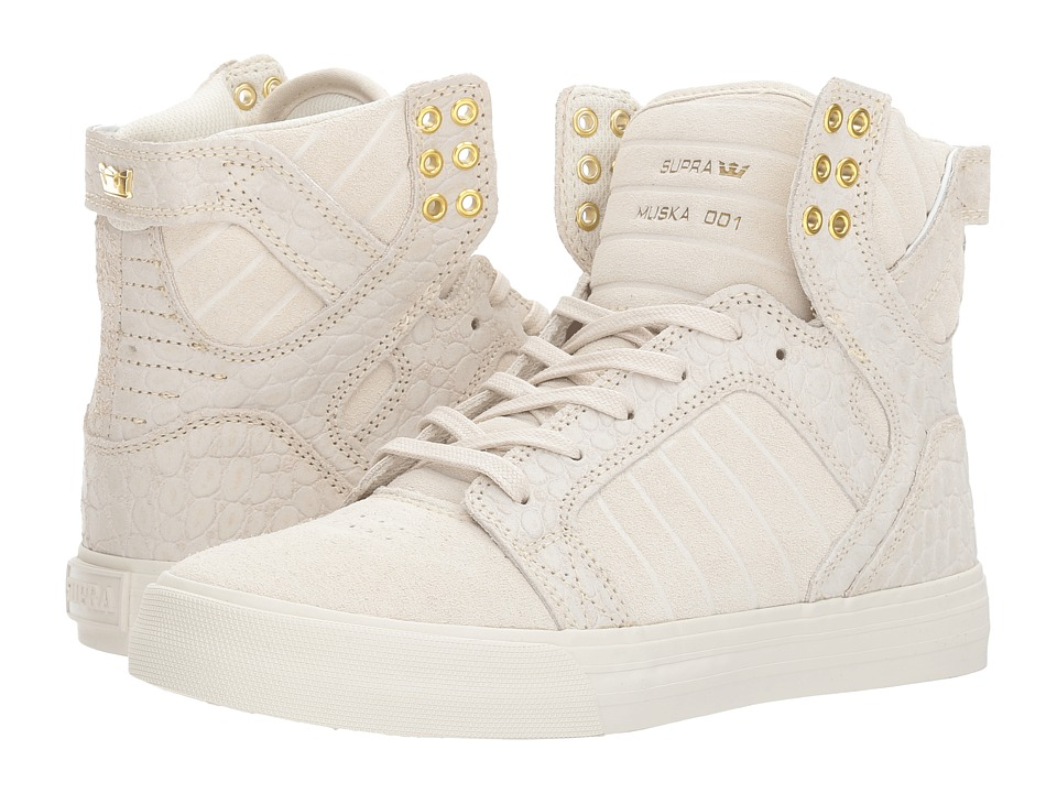 Supra - Skytop (Off-White/Off-White) Women's Skate Shoes