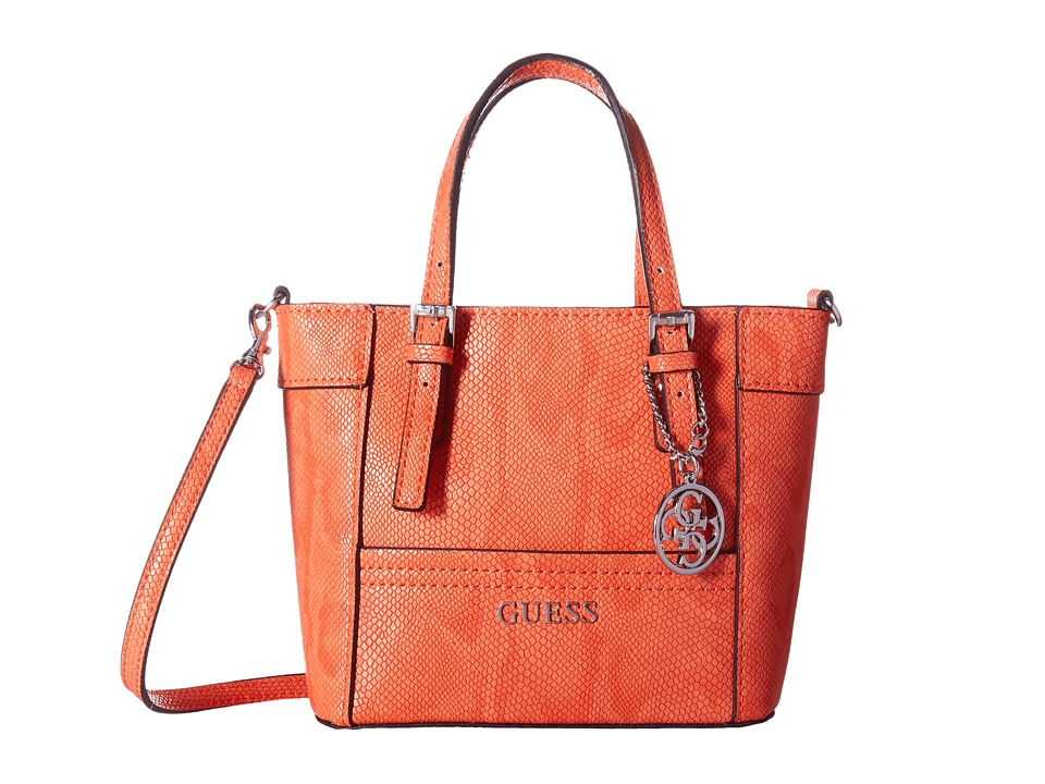 GUESS - Delaney Petite Tote (Sunset) Tote Handbags