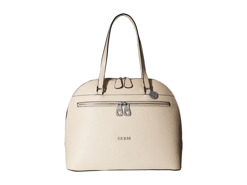 GUESS - Grants Pass Dome Satchel (Nude) Satchel Handbags