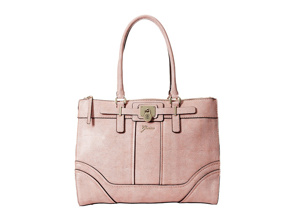 GUESS - Greyson Status Carryall (Rose) Satchel Handbags