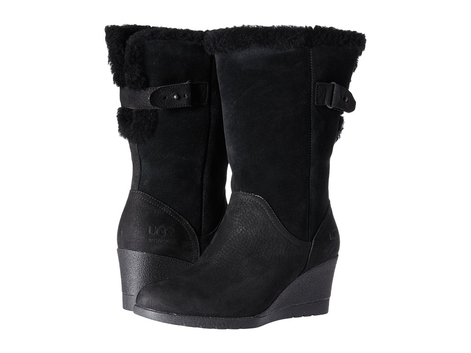 UGG Edelina Waterproof (Black) Women