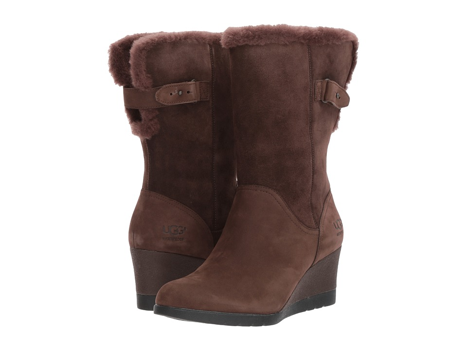 UGG Edelina Waterproof (Grizzly) Women