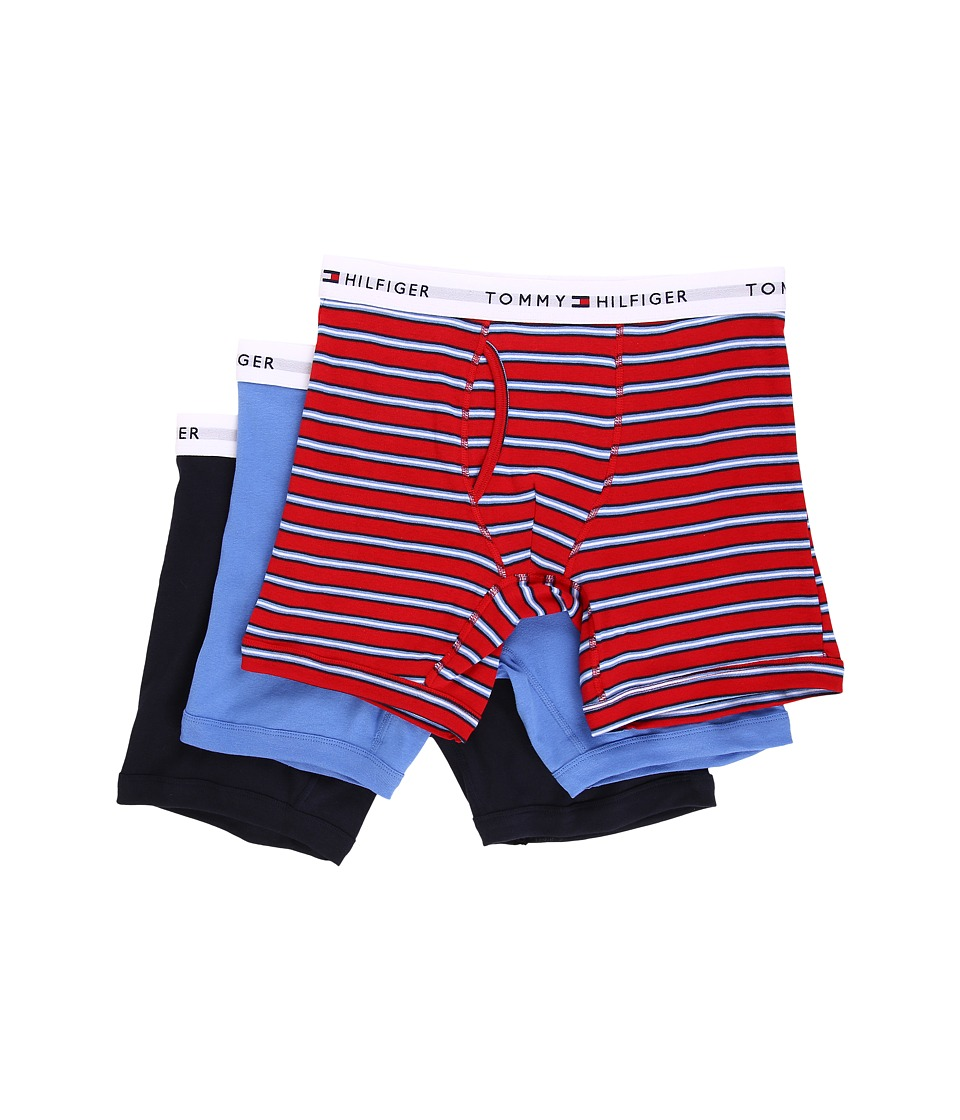 Tommy Hilfiger - Boxer Brief Fancy 3-Pack (Fire) Men's Underwear