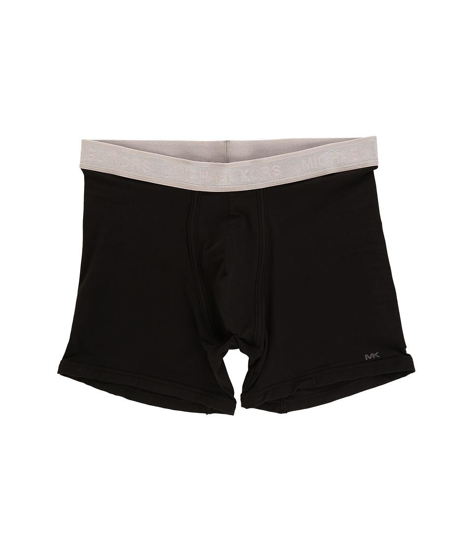 Michael Kors - Boxer Brief Stretch MicroFiber (Black) Men's Underwear