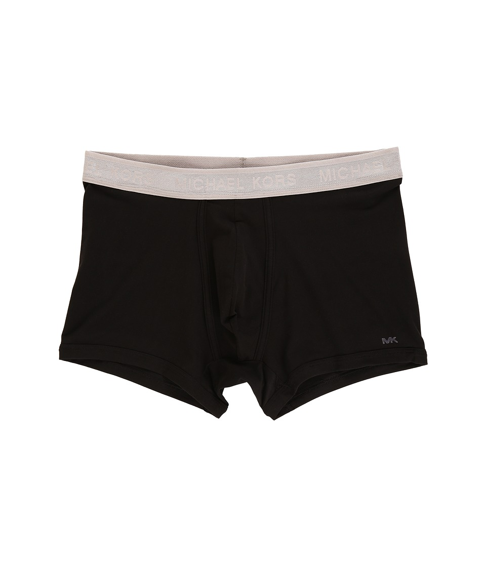 Michael Kors - Trunk Stretch Microfiber (Black) Men's Underwear