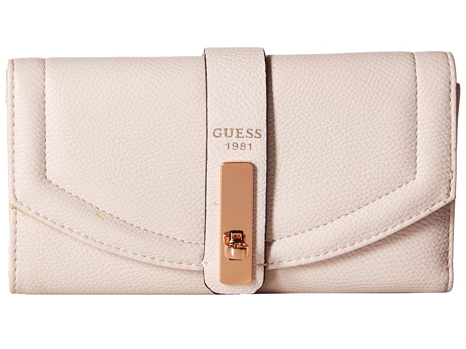 GUESS - Kingsley SLG Multi Clutch (Powder) Clutch Handbags