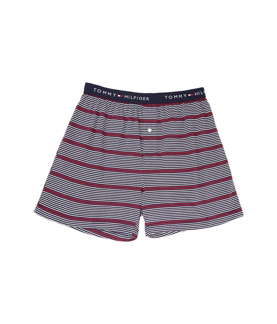Tommy Hilfiger - Fashion Knit Boxer (Deep Blue) Men's Underwear