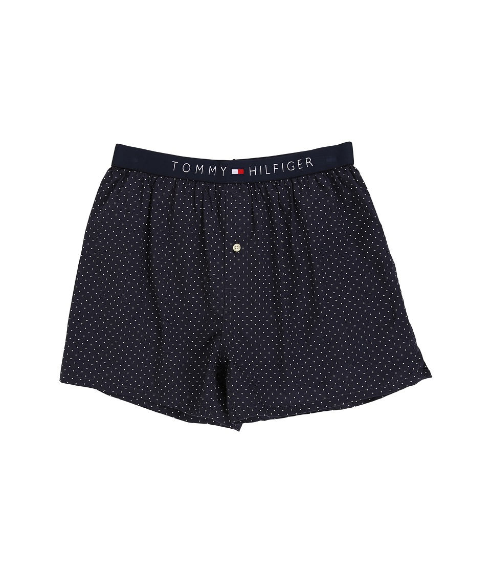 Tommy Hilfiger - Icon Slim Woven Boxer (New Navy) Men's Underwear