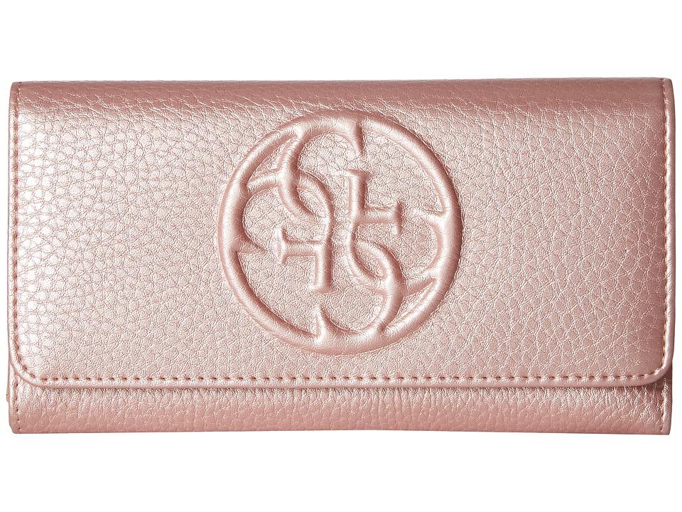 GUESS - Korry SLG Multi Clutch (Bubblegum) Clutch Handbags