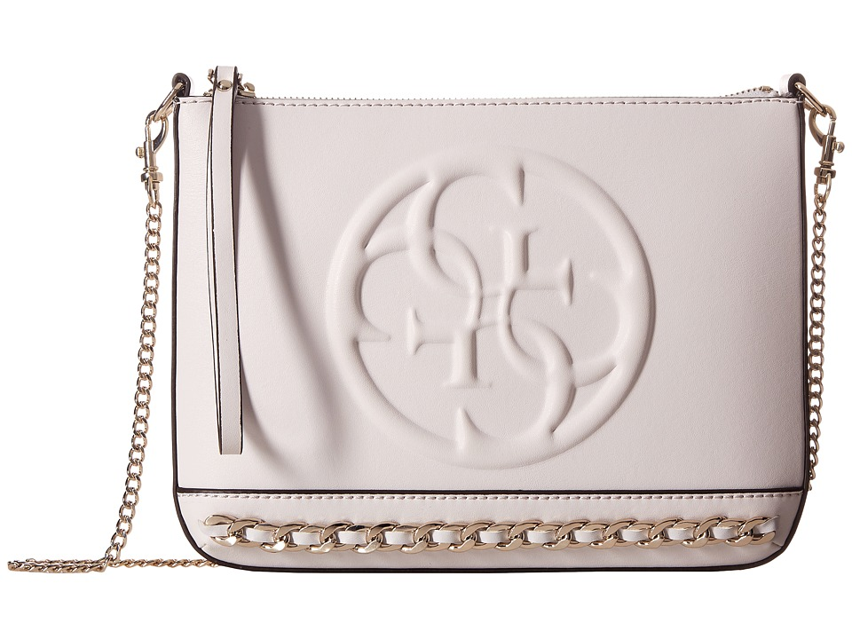 GUESS - Korry Crossbody Clutch (Nude) Clutch Handbags