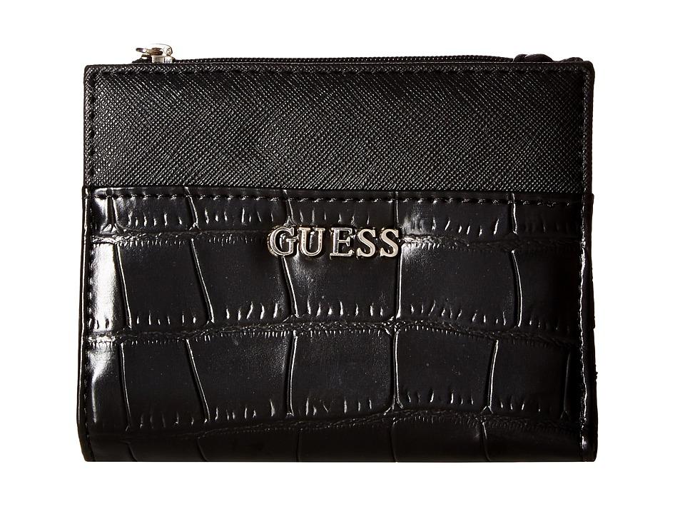 GUESS - Kingville SLG Bifold (Black) Bi-fold Wallet