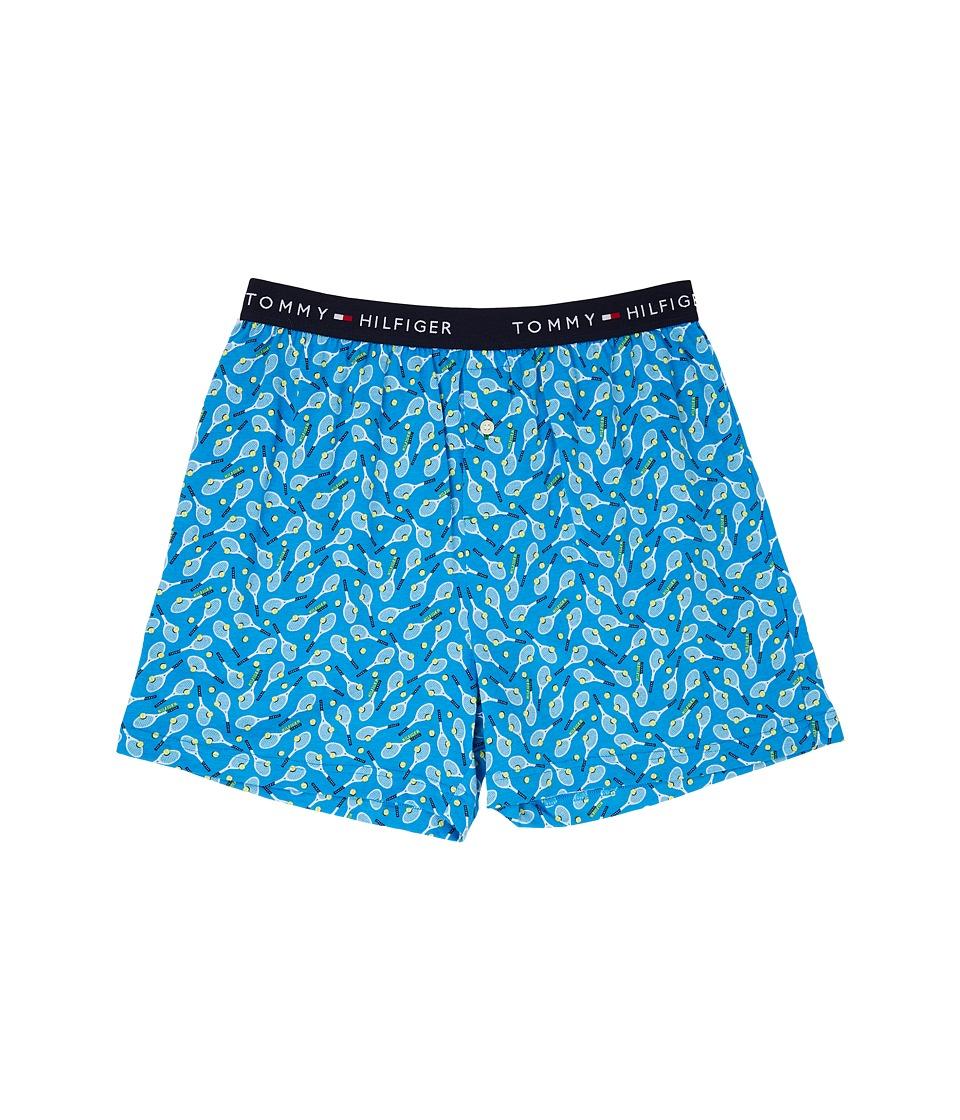 Tommy Hilfiger - Fashion Knit Boxer (Cobalt) Men's Underwear