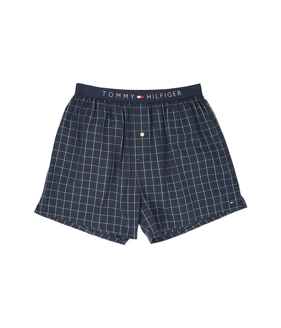 Tommy Hilfiger - Fashion Woven Boxer (Midnight) Men's Underwear
