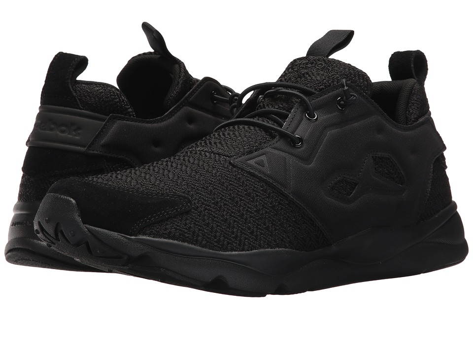 Reebok Lifestyle Furylite Refine (Black/White) Men's Shoes