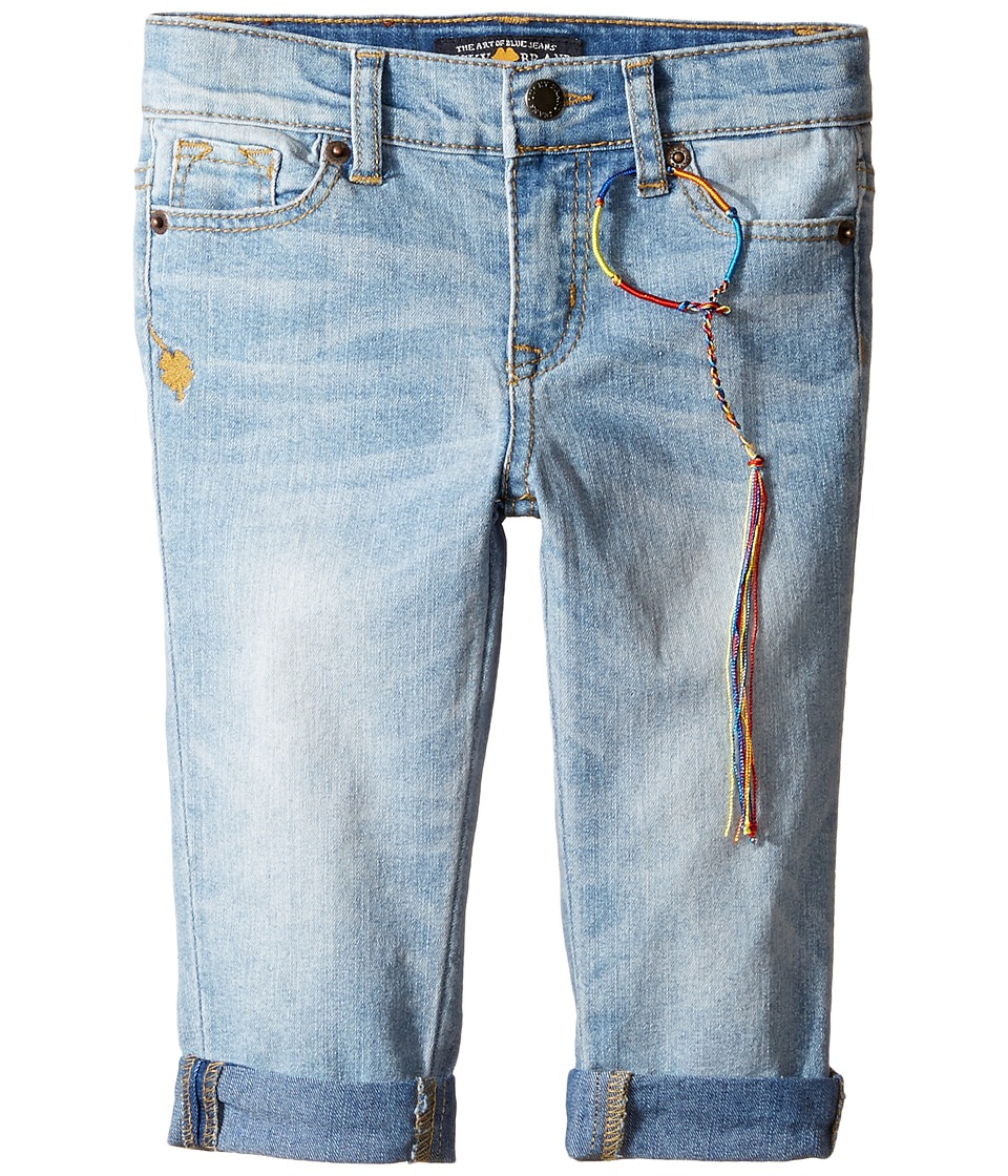 Lucky Brand Kids - Zoe Ankle Pants with Roll Cuff (Toddler) (Bluegrass Wash) Girl's Casual Pants