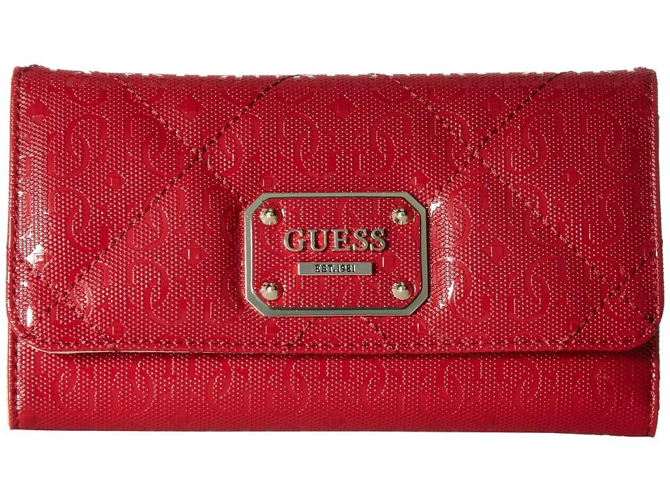 GUESS - Ophelia SLG Slim Clutch (Lipstick) Clutch Handbags