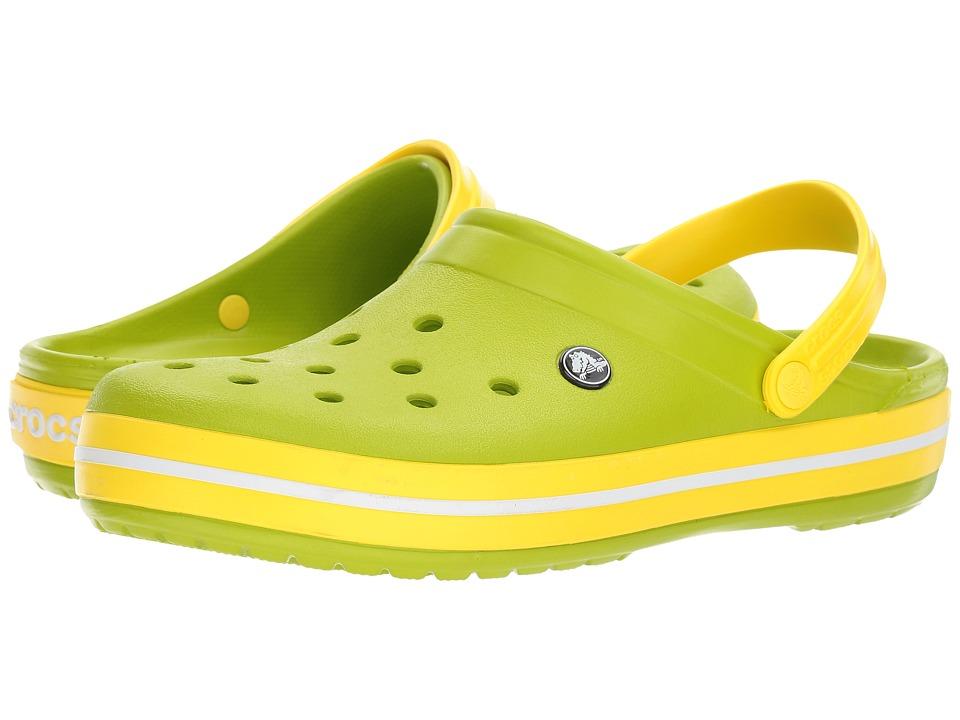 Crocs Crocband Clog (Volt Green/Lemon) Clog Shoes
