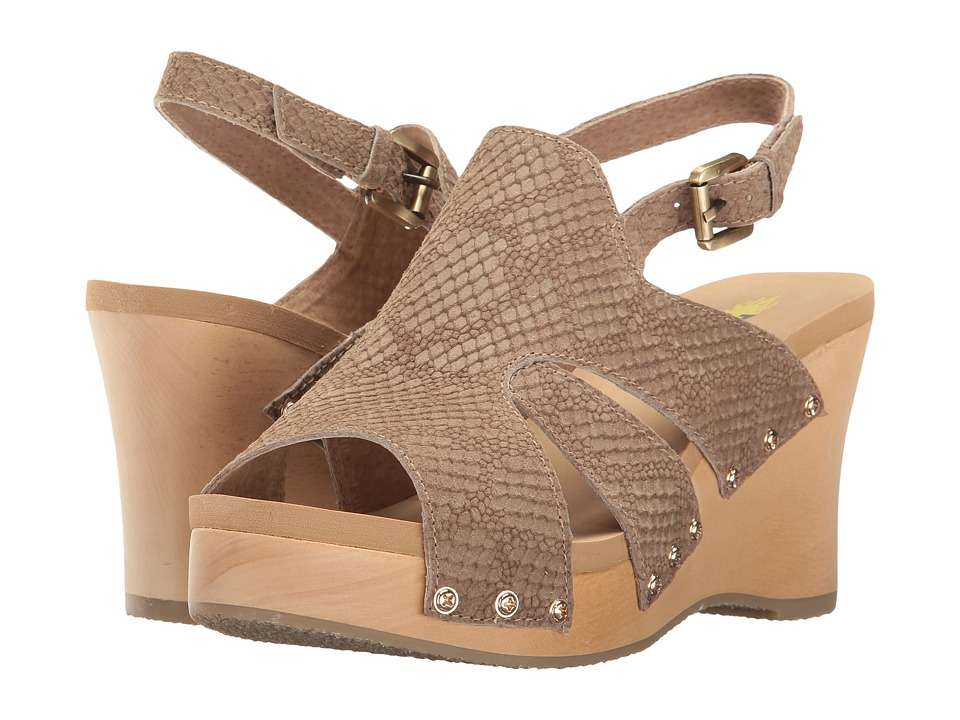 VOLATILE - Francesca (Taupe) Women's Sandals
